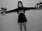 I wil send you 100 pictures in my cheerleader uniform