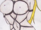 [Image: draw 5 pictures any character in bondage to your desire]